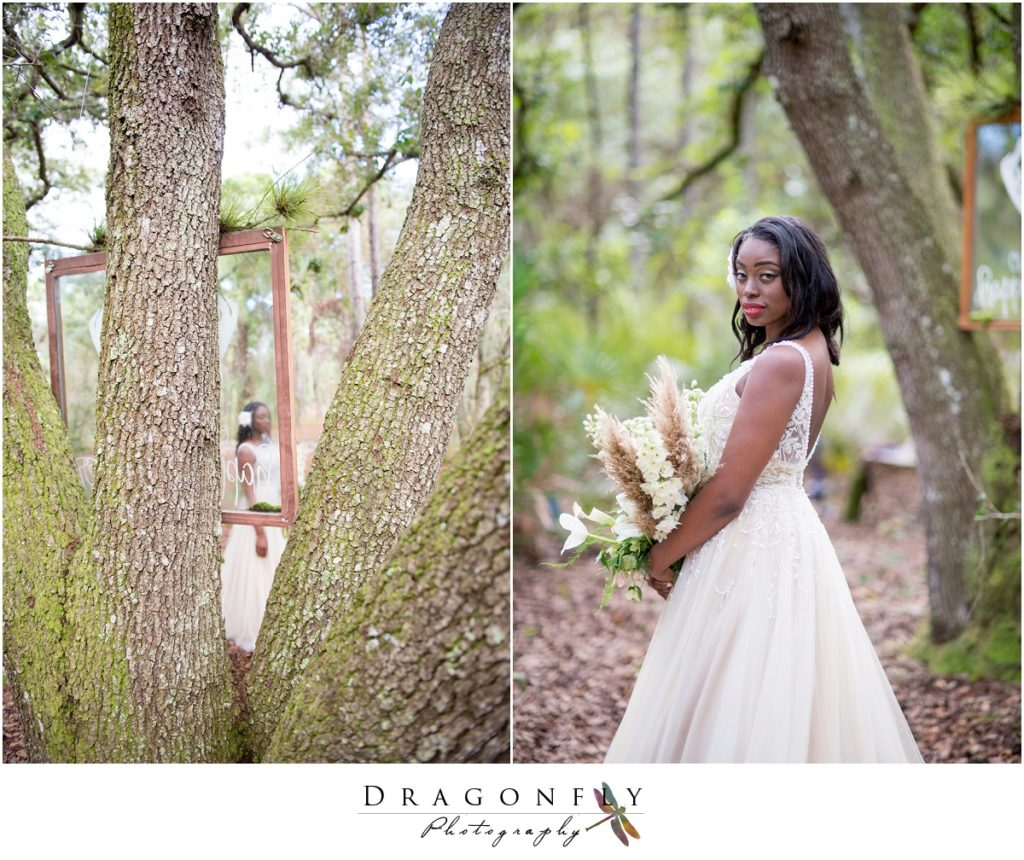 Dragonfly Photography Lifestyle Wedding and Portrait Photography Woods Wedding Dress and Details Insperation_0009