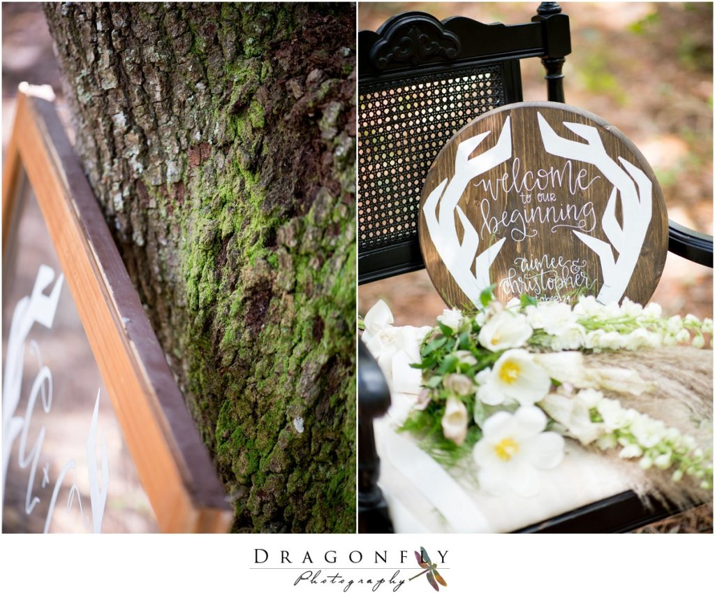 Dragonfly Photography Lifestyle Wedding and Portrait Photography Woods Wedding Dress and Details Insperation_0012