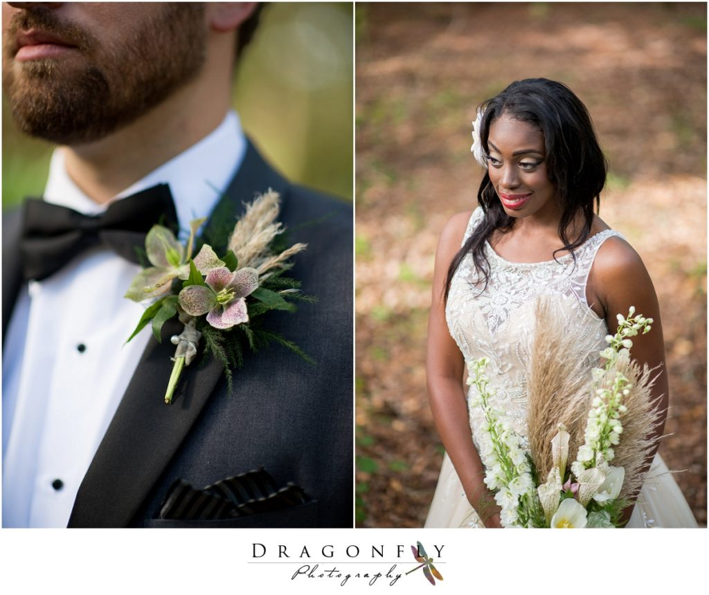 Dragonfly Photography Lifestyle Wedding and Portrait Photography Woods Wedding Rustic Floral Insperation_0016