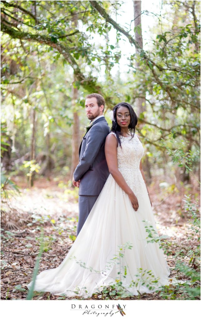 Dragonfly Photography Lifestyle Wedding and Portrait Photography Woods Wedding Dress Jusin Alexander gown_0019