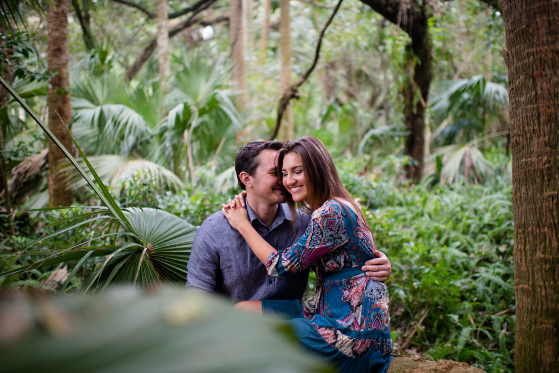 Cleveland Wedding Photography Romantic Engagement Photo