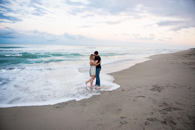 Cleveland Wedding Photography Beach Engagement Photo