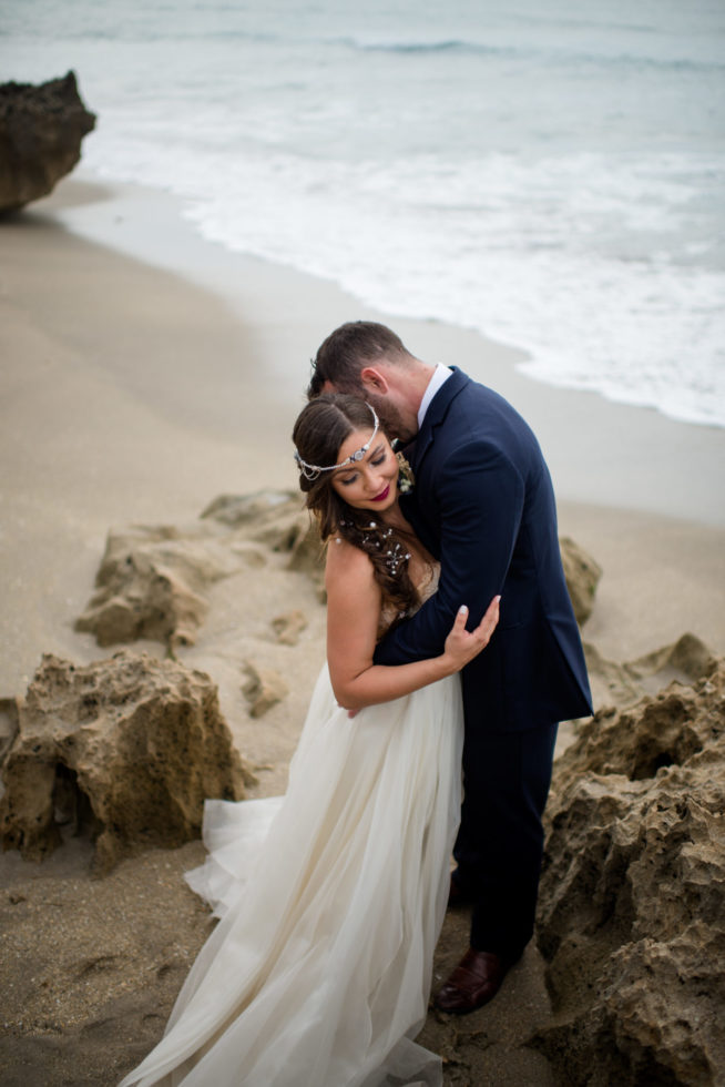 Cleveland Wedding Photography Elegant Beach Wedding Photos
