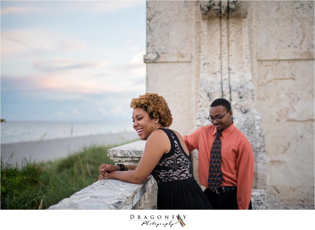 palm beach island modern bronze engagement photos_0003