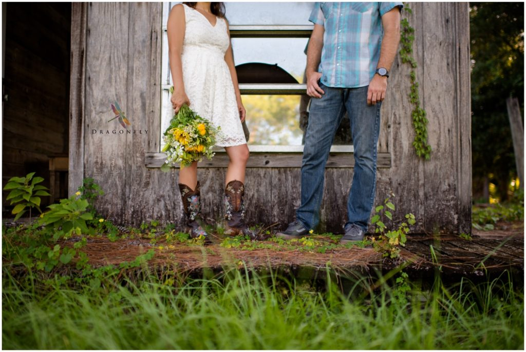 Rustic Elopement Detail Shot