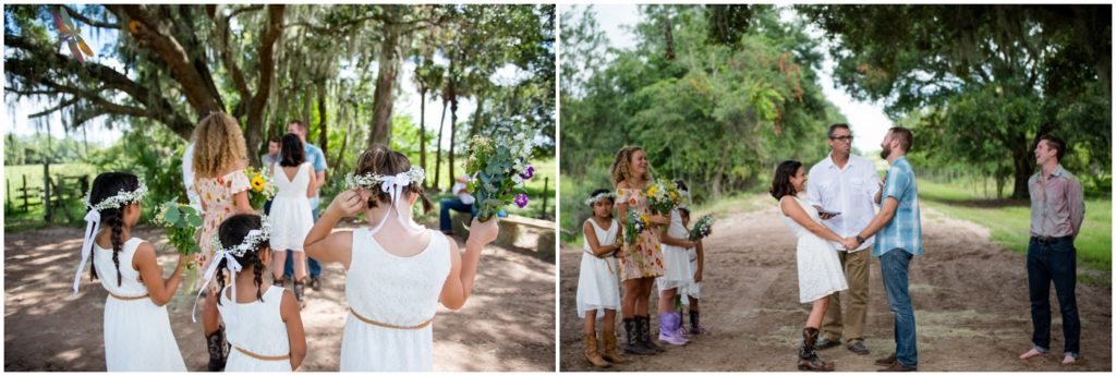 Rustic Elopement Wedding