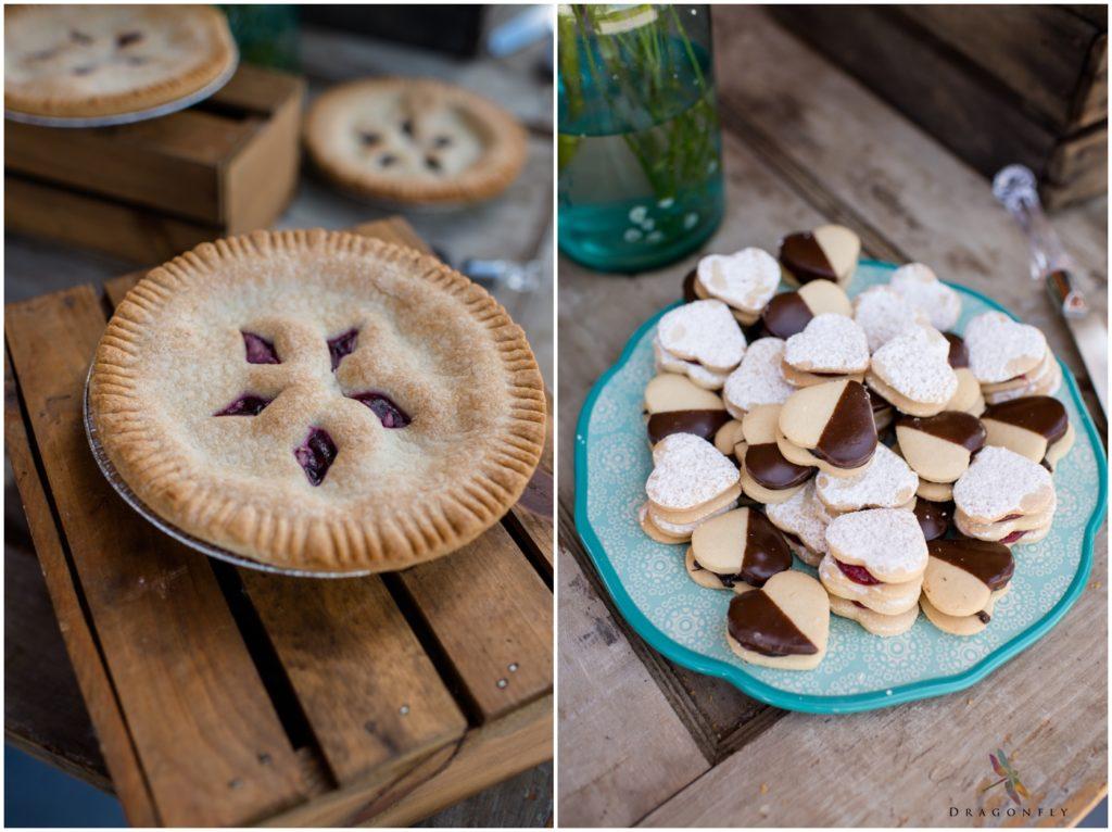 Details wedding cookies