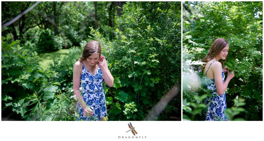 Greenery Senior Pictures