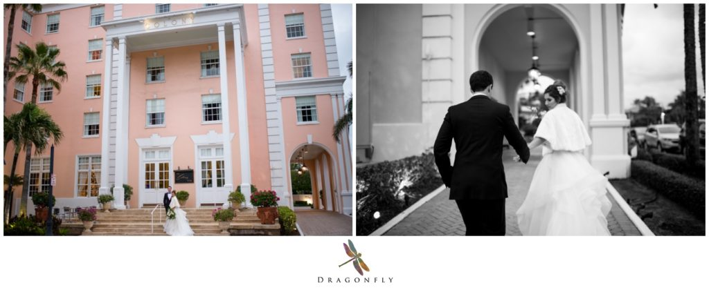 Wedding Portraits at the Colony Hotel