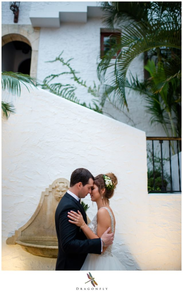 Wedding Portraits on Worth Ave in Palm Beach