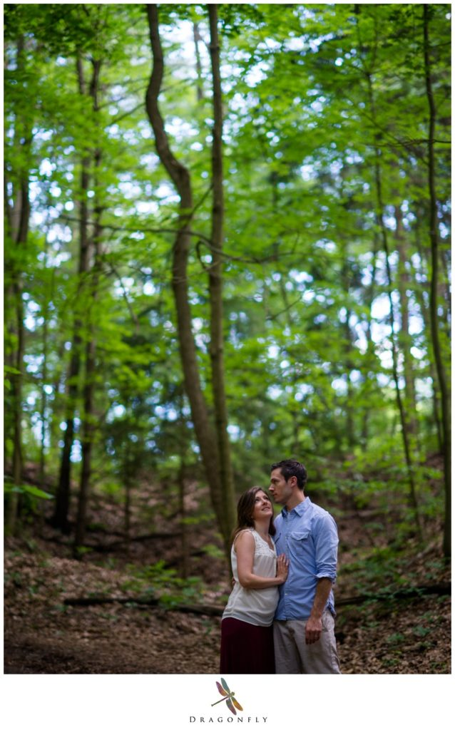 Standing Under Trees Dragonfly Photography Fine Art Wedding and Editorial Portrait Photography