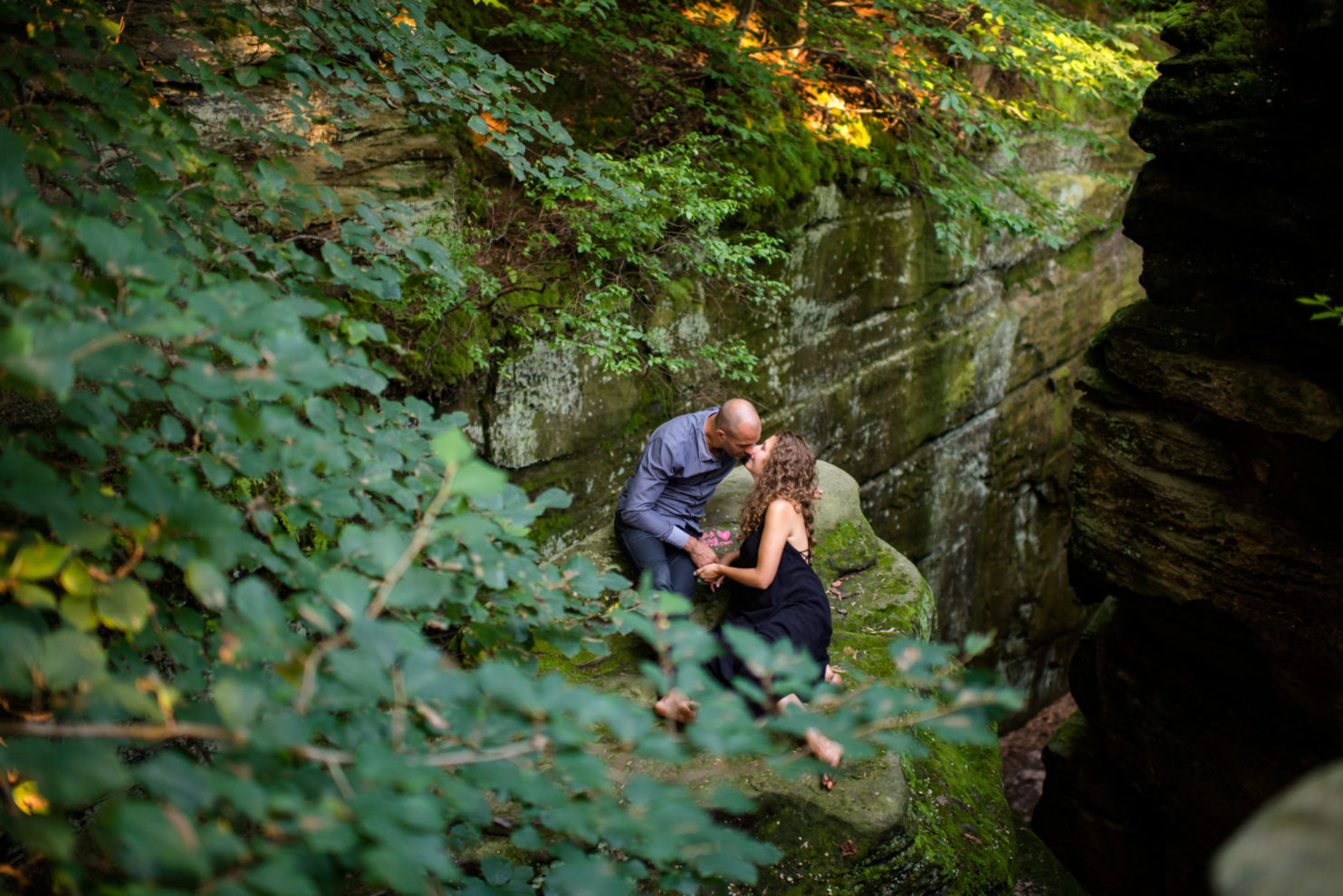 Cleveland Wedding Photography Mountain Top Engagement Session