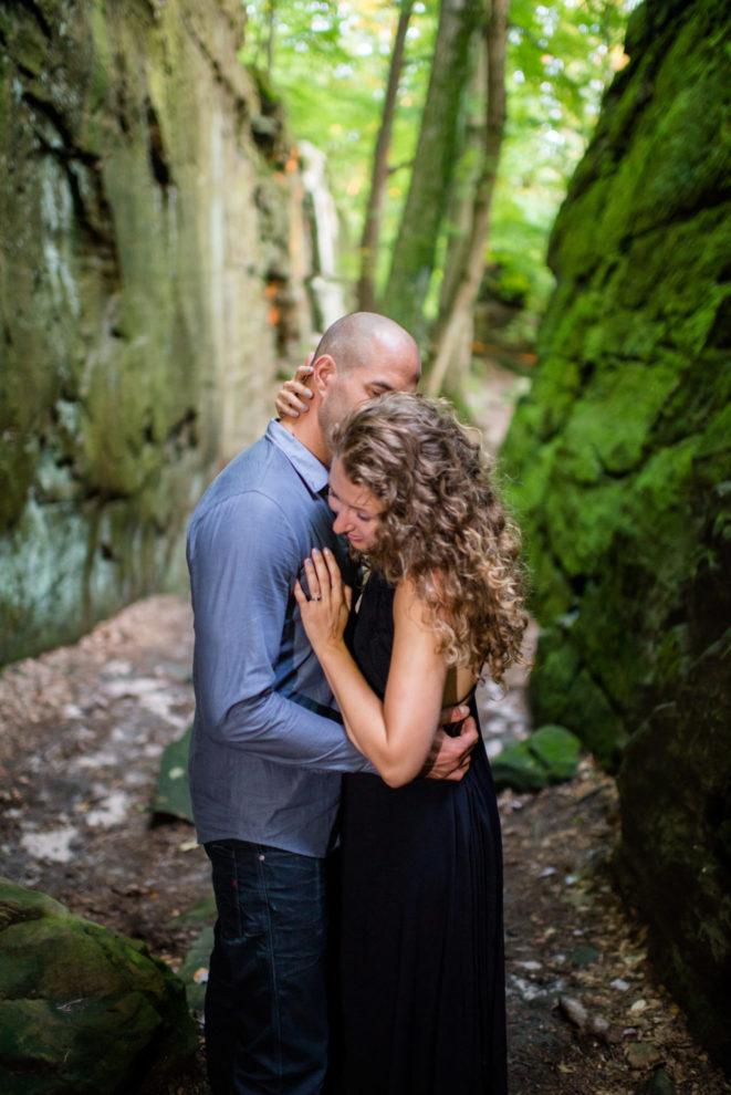 Cleveland Wedding Photography whipps ledges Engagement Photos