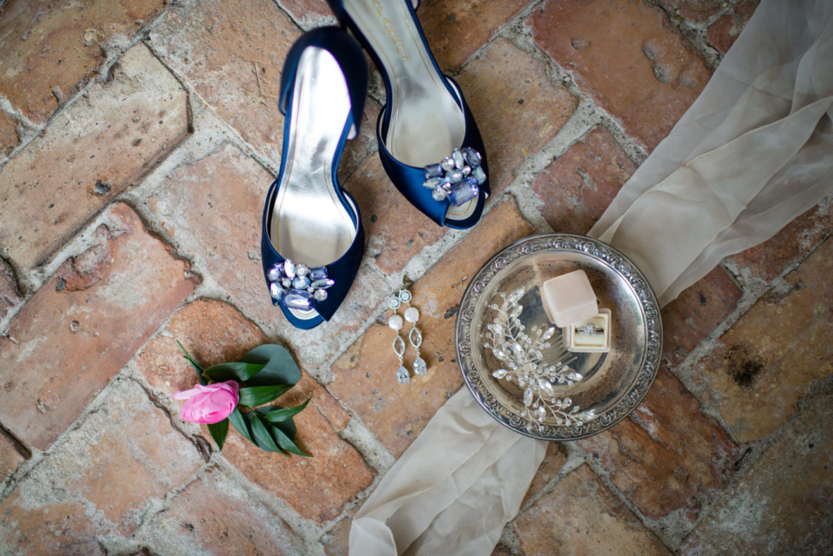 plantation wedding day details