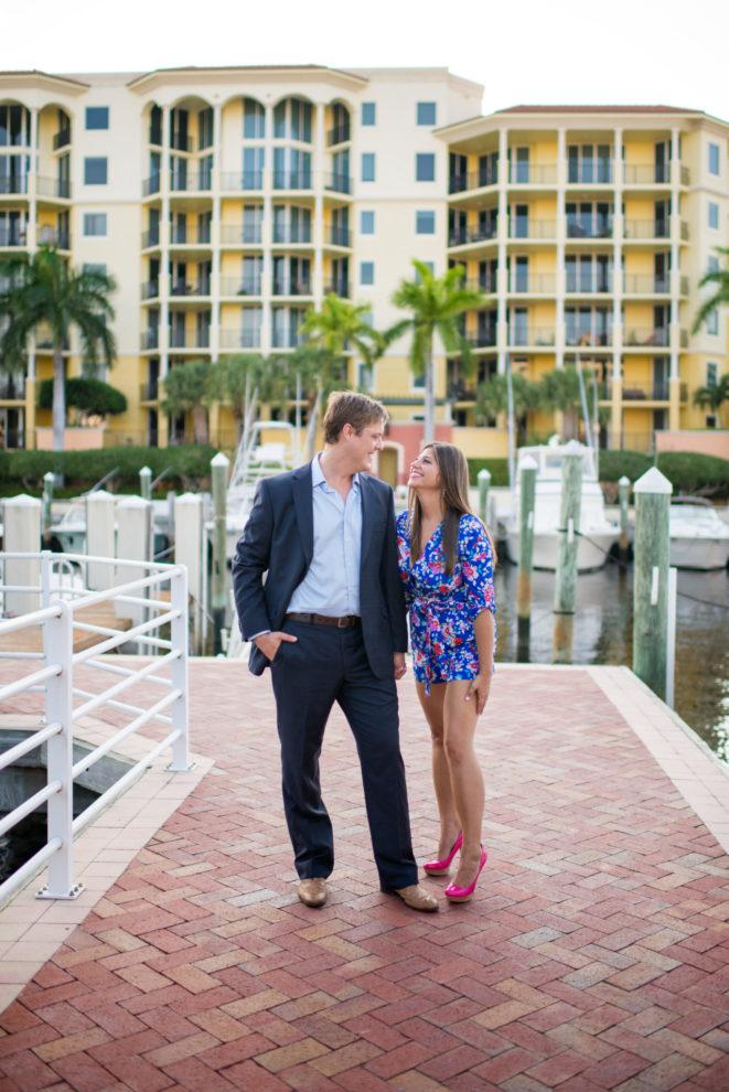Cleveland Wedding Photography Yacht Club Engagement Photo
