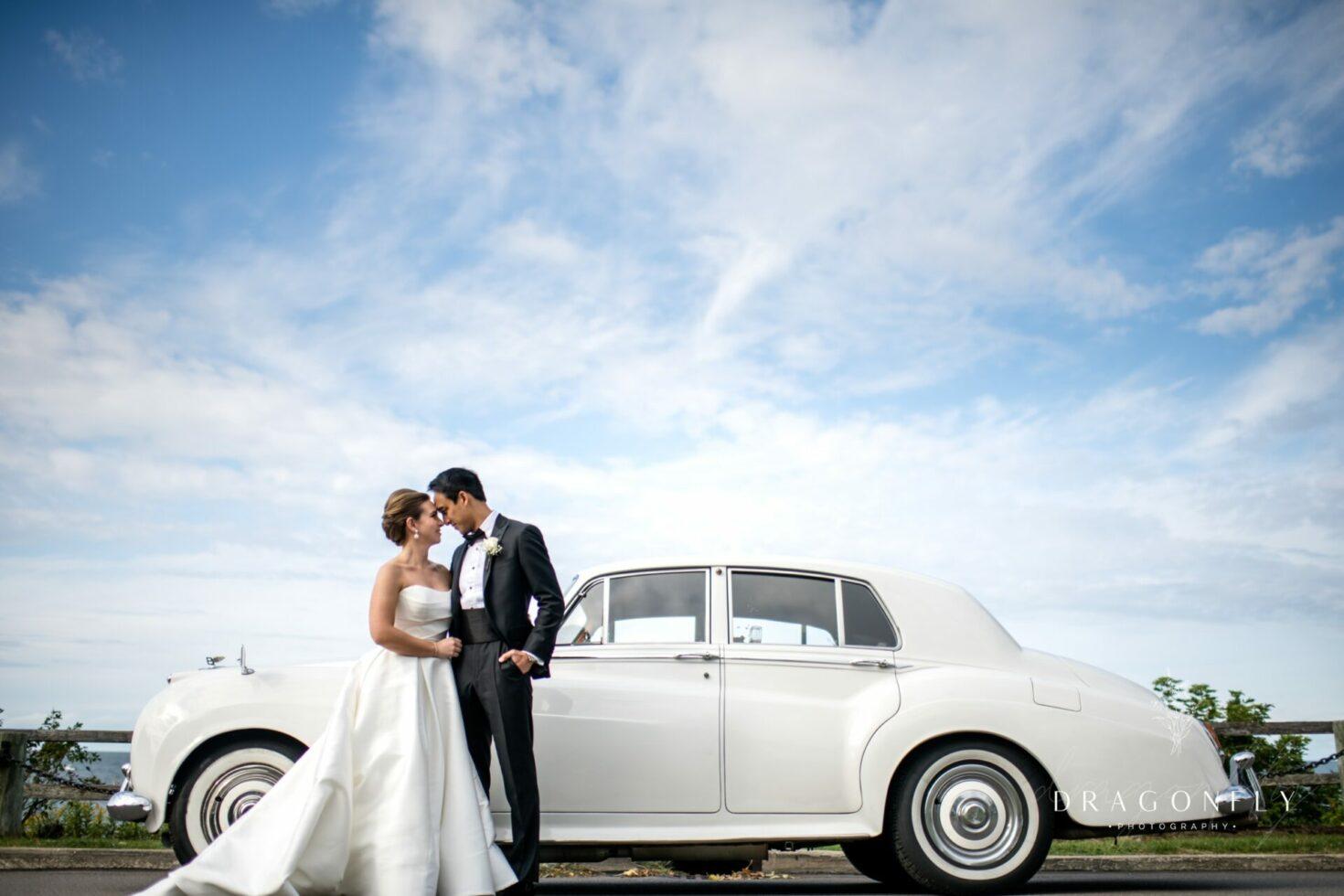 Bride Groom Classic Car