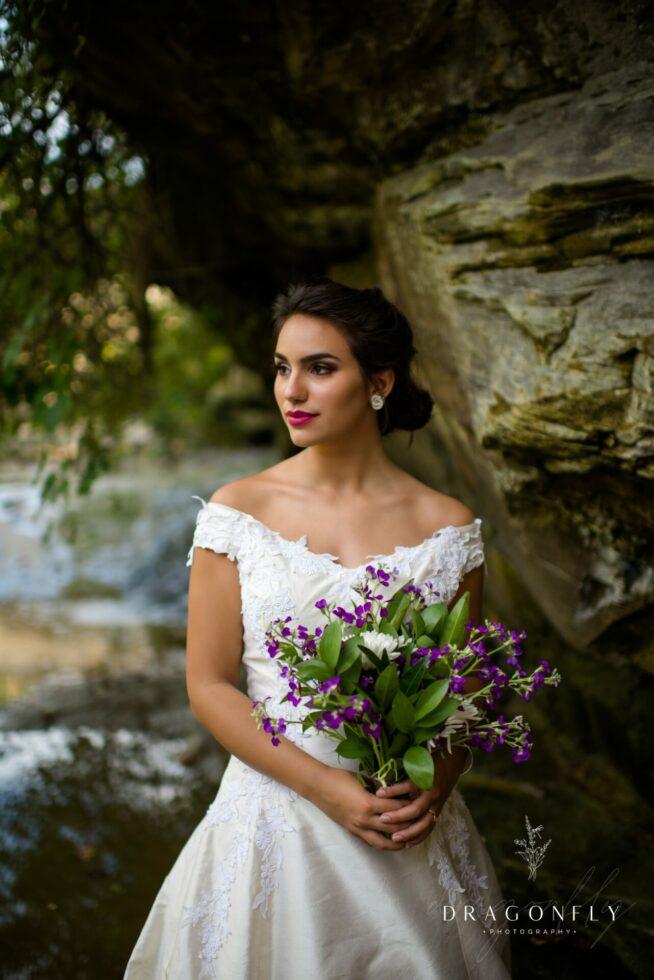 bride in cleveland metro park