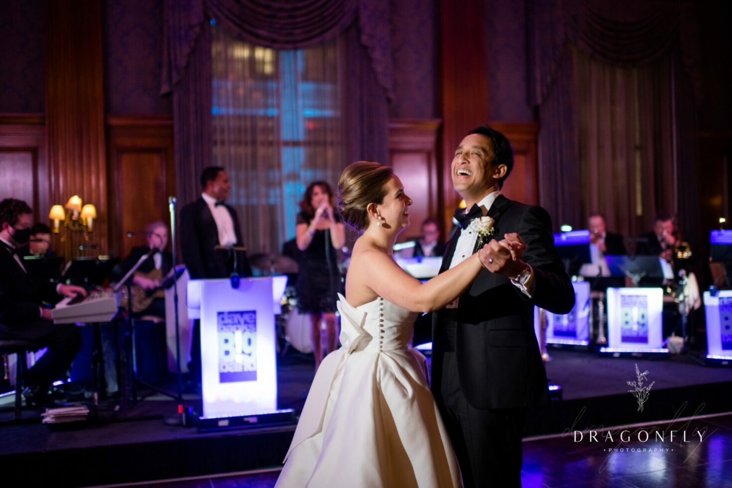 Bride and Groom First Dance at Union Club Wedding