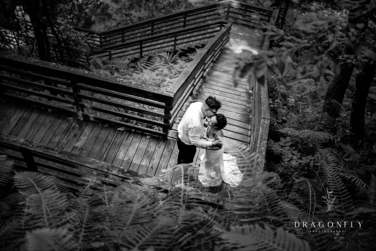 Elopement for bride and groom