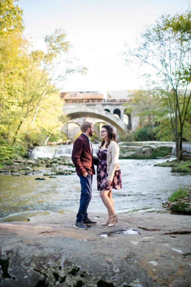 Cleveland Wedding Photography Metropark Engagement Session