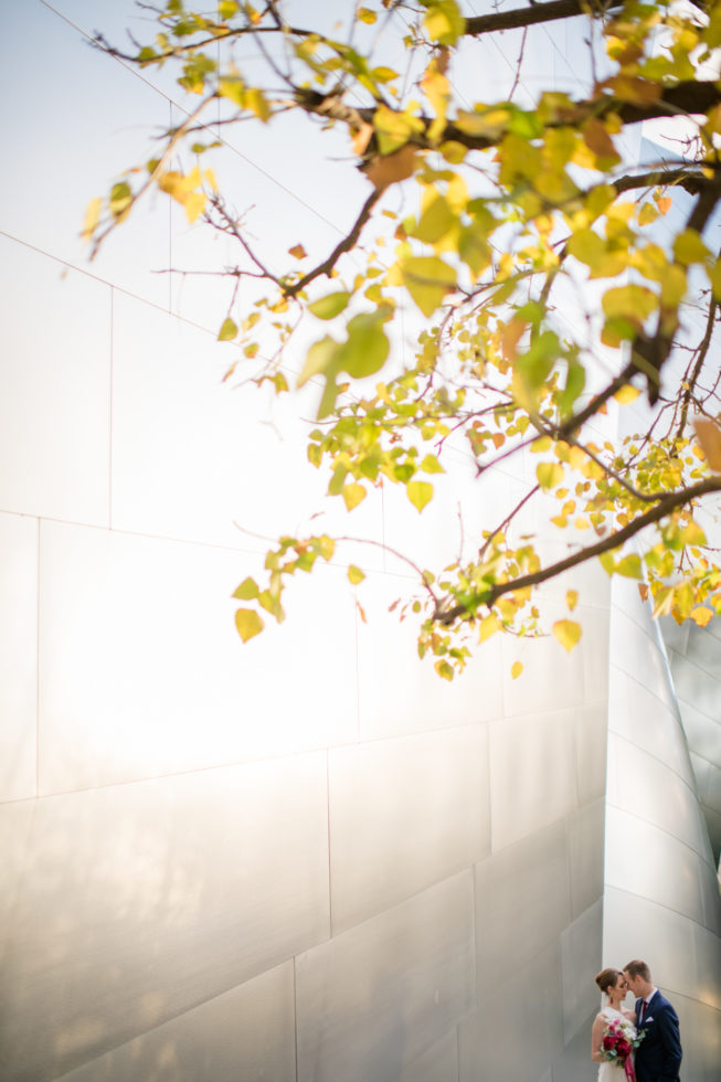 Cleveland Wedding Photography Walt Disney Music Hall Destination Wedding Photo
