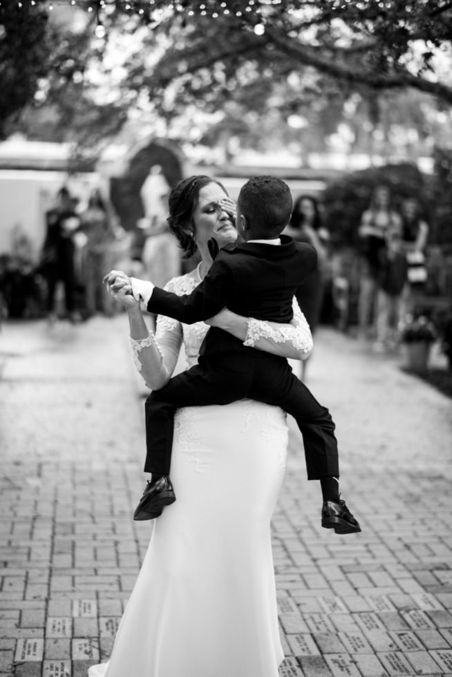 Best Cleveland Wedding Photographer Emotional First Dance Photo