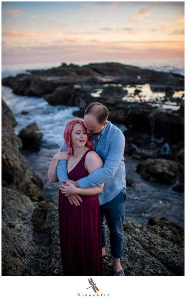 Sunset Couple Engagement at The Montage Photo