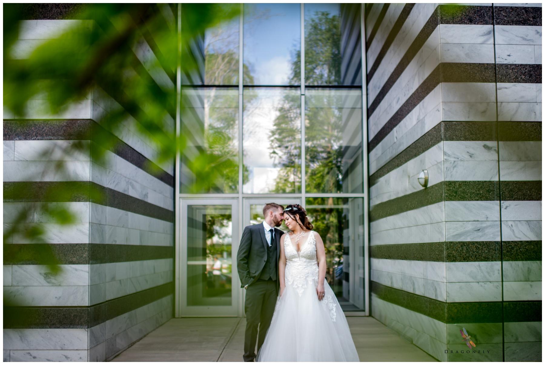 Cleveland Botanical Garden Wedding Dragonfly Photography