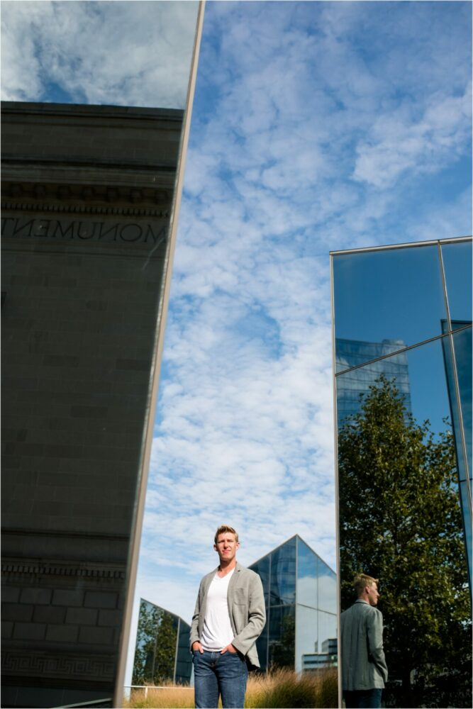 downtown cleveland senior pictures